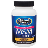 Vitamin Shoppe Msm 1000