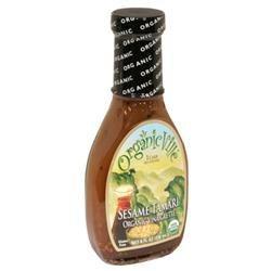 Organicville Organic Vinaigrette Sesame Tamari - 8 fl oz - Vegan
