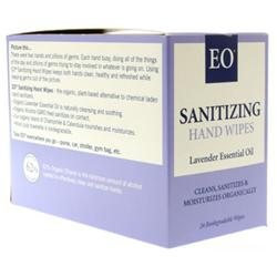 EO Products Sanitizing Hand Wipes - Lavender