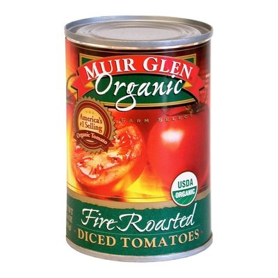 Muir Glen Fire Roasted Diced Tomatoes 14 oz