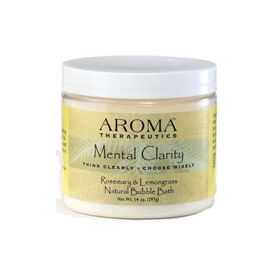 ABRA Therapeutics, Aroma Therapeutics Mental Clarity Bubble Bath Rosemary & Lemongrass 14 fl oz