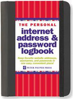 The Personal Internet Address and Password Organizer