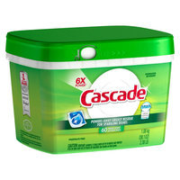 Cascade with Dawn Action Pacs Fresh Scent Dishwasher Detergent Pacs 60 ct