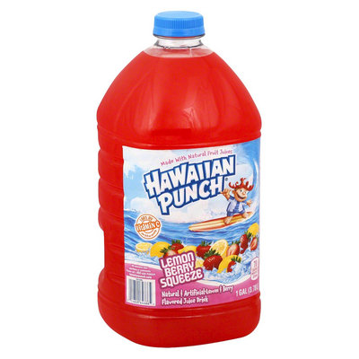 Mott's Hawaiian Punch Lemon Berry Squeeze Juice