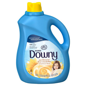 Downy Sun Blossom Scent Liquid Fabric Softener 103 oz