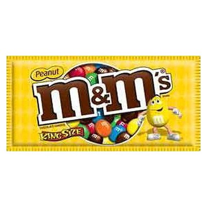 M & M's Chocolate Peanut Candy 3.27 oz