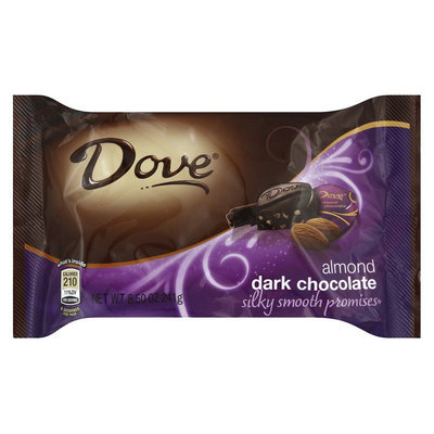 Dove Chocolate Dove Dark Chocolate with Almonds