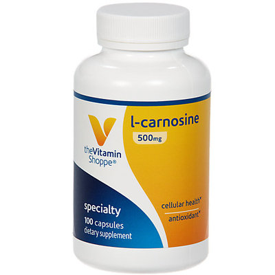 Vitamin Shoppe L-Carnosine 500 MG - 100 Capsules - Other Supplements