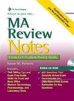 MA Review Notes: Exam Certification Pocket Guide, by FA Davis