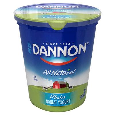 Dannon Fat Free Plain Yogurt 32 oz