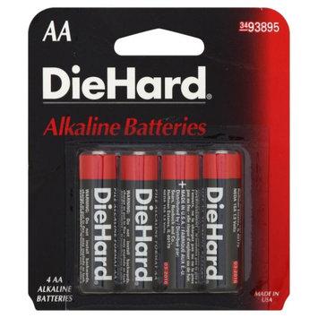 Eveready Battery Company DieHard AA Alkaline Batteries, 4pk - EVEREADY BATTERY COMPANY