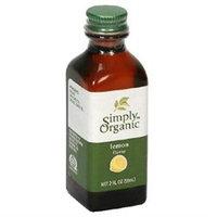 Simply Organic Lemon Flavor - 2 fl oz