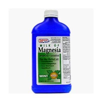 Preffered Plus Products Milk Of Magnesia Liquid Mint 16 Oz