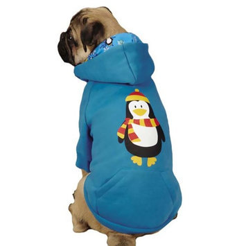 Pet Edge Dealer Services Casual Canine Penguin Pal Dog Hoodie Xsmall