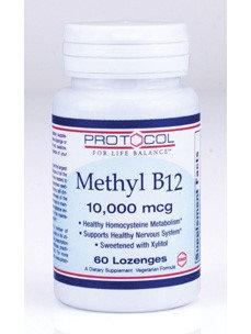 Protocol For Life Now Foods Protocol Methyl B 12 10,000 mcg 60 Lozenges