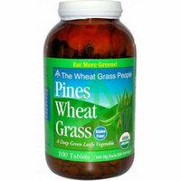 Pines International Organic Wheat Grass 500 mg 100 Tablets
