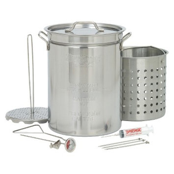 Barbour International Bayou Classic Stainless Turkey Fryer - 32 Qt.