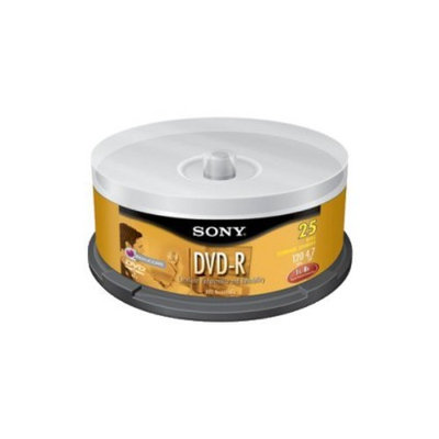Sony 25DMR47LS1 25-pk. DVD-R Spindle