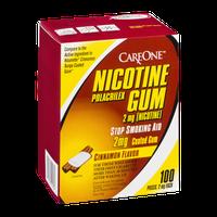 CareOne Nicotine Polacrilex 2mg Gum Cinnamon - 100 CT