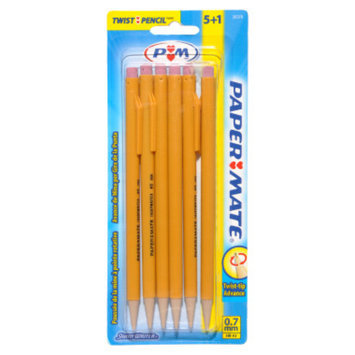 Paper Mate Papermate Twist-tip Advance Mechanical Pencils - 0.7mm, 6 pack