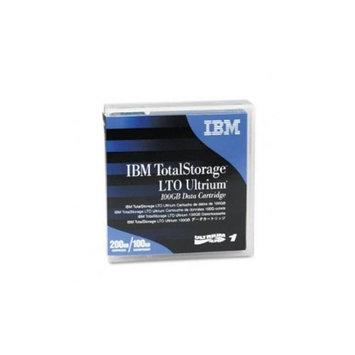 IBM Ultrium LTO-1 Cartridge, 100GB, Black Case