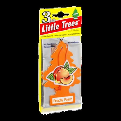 Little Trees Air Fresheners Peachy Peach - 3 CT