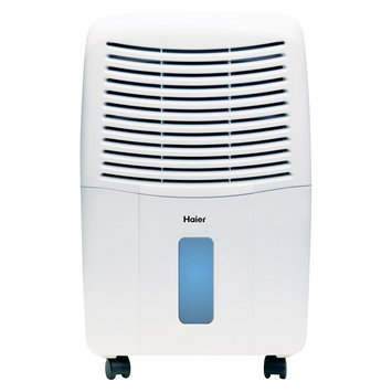Haier 45 PT Electronic, Energy Star Dehumidifier- DE45EM, White