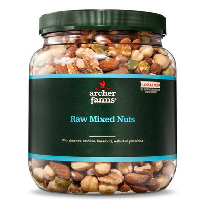 Archer Farms Unsalted Raw Mixed Nuts 30 oz