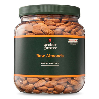 Archer Farms Unsalted Raw Almonds 32 oz