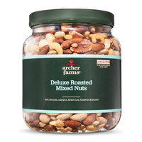 Archer Farms Unsalted Deluxe Roasted Mixed Nuts 30 oz