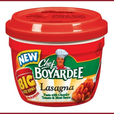 Chef Boyardee Lasagna Big Size Bowl 14.5 oz