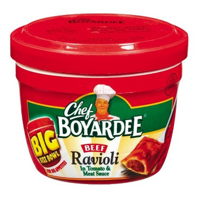 Chef Boyardee Beef Ravioli Big Size Bowl