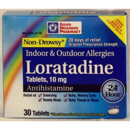 Good Neighbor Pharmacy GNP Non-Drowsy Loratadine 10mg (30 Tablets)