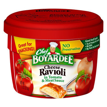 Chef Boyardee Cheese Ravioli Cup 7.5 oz
