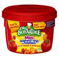 Chef Boyardee Spaghetti Rings and Meatballs Cup 7.5 oz