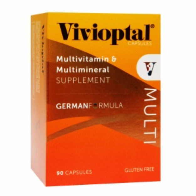 Vivioptal Multivitamin & Multimineral Supplement, Capsules, 90 ea