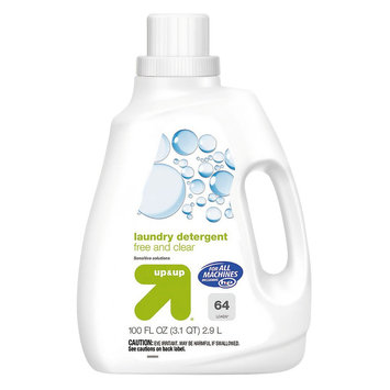 up & up Liquid Laundry Detergent - Free & Clear - 100 oz