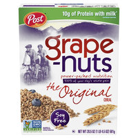 Post Grape-Nuts Natural Whole Grain Wheat With Barley Cereal