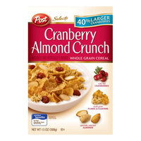 Post Cranberry Almond Crunch Selects Cereal - 1 Box (13 oz)