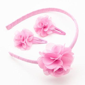 Hanover Accessories Floral Headband & Hair Snaps Set - Girls