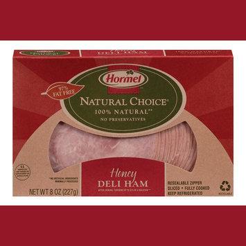 Hormel Natural Choice Sliced Honey Deli Ham 8 oz