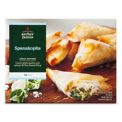 Archer Farms Greek-Inspired Spanakopita Phyllo Pastries - 12 ct