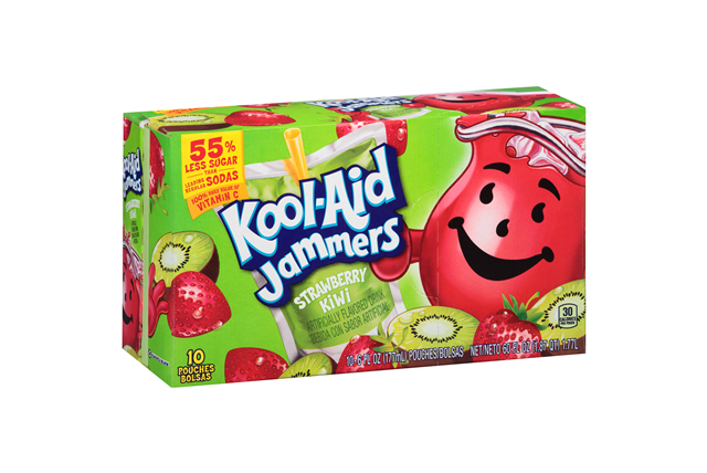 Kool-Aid Jammers Strawberry Kiwi Pouches