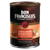 Don Francisco's Medium Roast Cinnamon Hazelnut Flavored Ground Coffee