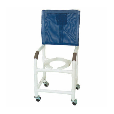 MJM International Standard Deluxe Shower Chair with High Back