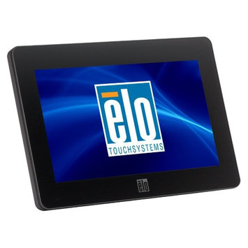 ELO Touch Solutions E791658 Touchmonitors 0700L AccuTouch - LED monitor - 7 - portable - touchscreen - 800 x 480 - 160 cd/m2 - 500:1 - 25 ms - USB - black