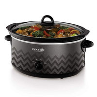 Crock-Pot 7-qt. Slow Cooker (Chevron Charcoal)