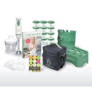 Baby Food Making And Storage Kit - On The Go Package - Award-Winning All Natural Baby Food System By Sage Spoonfuls