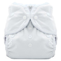 Thirsties Duo Wrap Snap - White Size Two