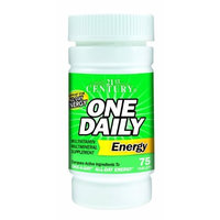 21st Century One Daily Energy Tablets, 75-Count